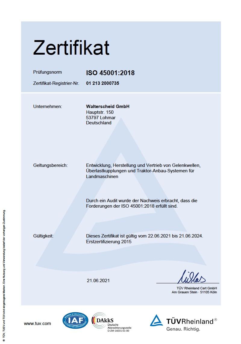 DIN ISO 45001:2018