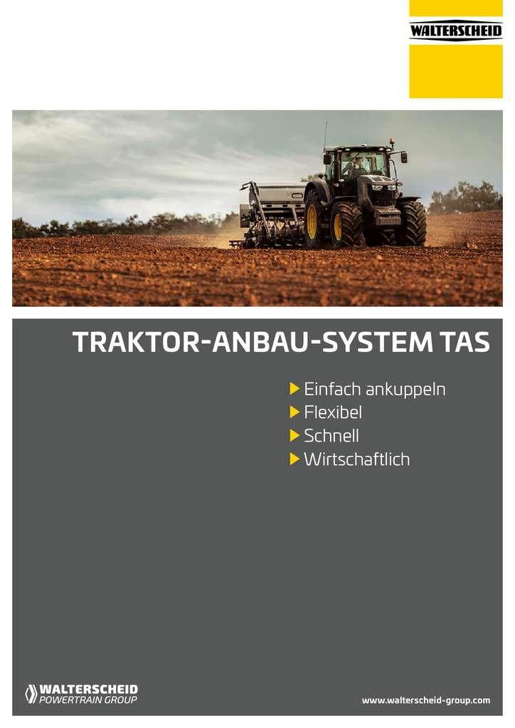 Walterscheid Broschüre Traktor-Anbau-Systeme