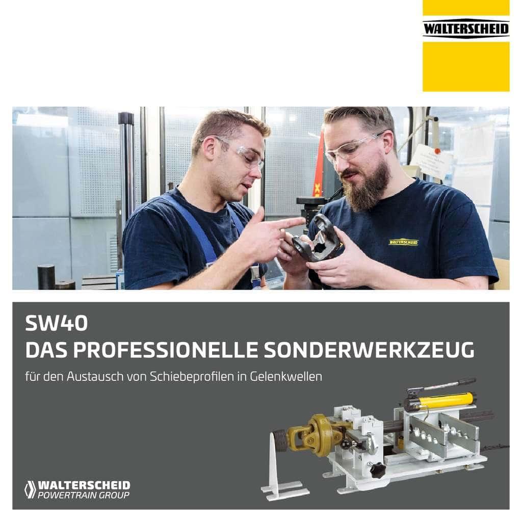 Walterscheid Sonderwerkzeug SW40